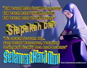 Selamat hari Ibu,,,